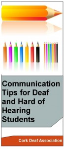 Communication Tips for Deaf and Hard of Hearing Students