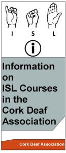 General Information on ISL Courses Leaflet with info logo