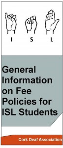 ISL general information on fees policies
